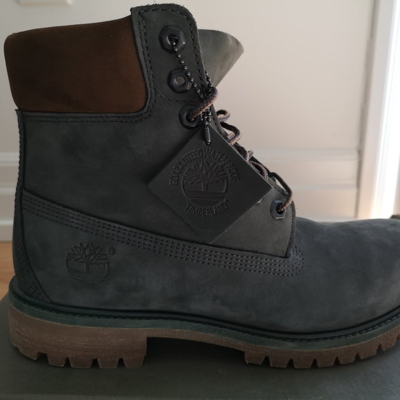 Timberland Other - BNIB Men's Timberlad Boots Size 8 Gray